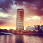 Millbank sunset