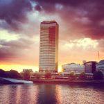 Millbank sunset