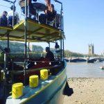 Tamesis Dock at low tide