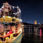 Tamesis Dock at night